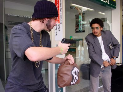 Robbery in the Bank