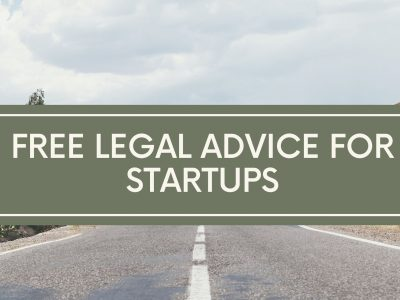 Free legal advice for startups